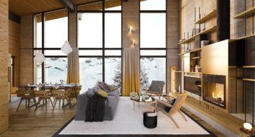 les cristaux, les arcs, french alps, france, interior view